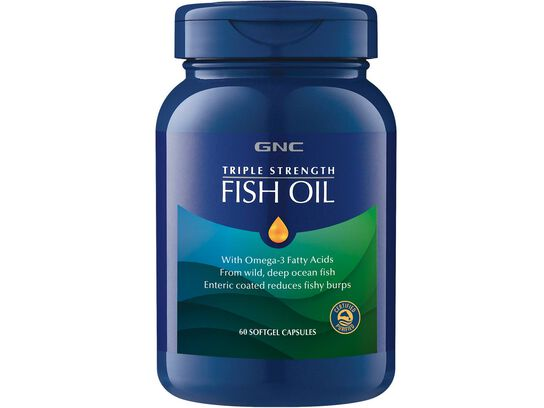 GNC三效魚油